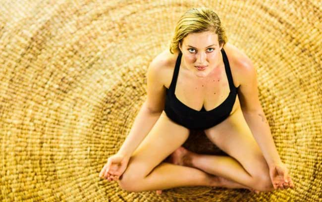 yoga at bliss bali retreat