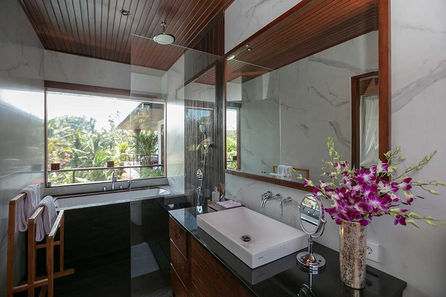 Beautiful bathroom spa Ubud