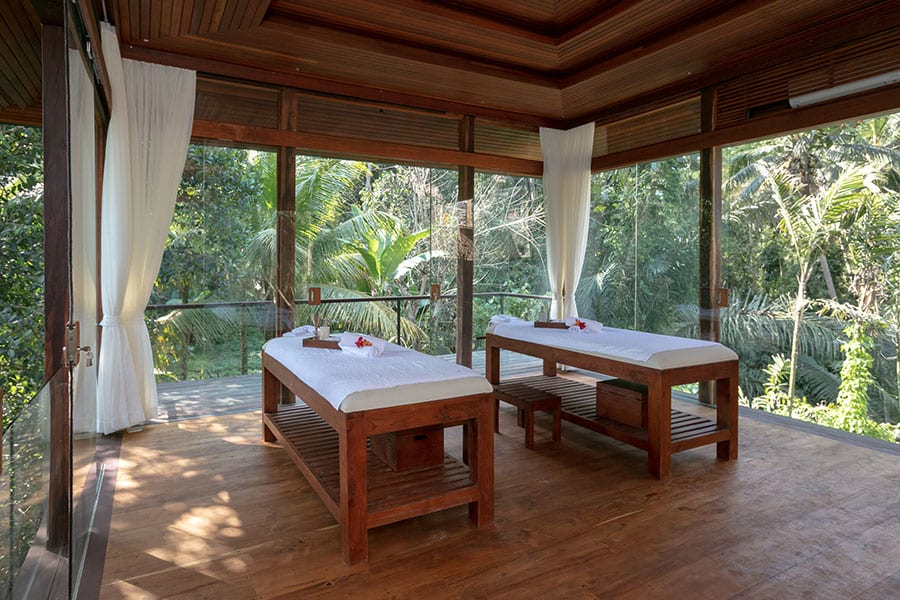 Stunning massage setting Spa Ubud Yoga Retreat
