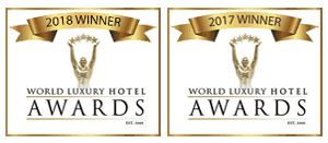 Bliss Bali retreat awards - World Luxury Hotel Awards 2017 and 2018, Wellbeing Partner, Boutique Hotel Awards