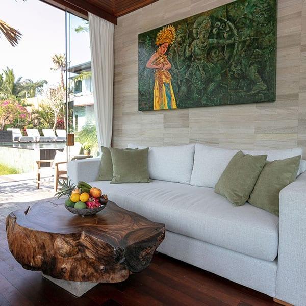 Gorgeous bedroom Ubud Bali Retreat