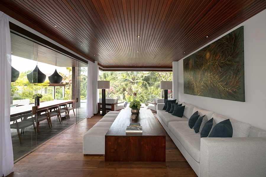 Gorgeous lounge Ubud Bali accomodation