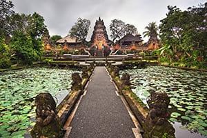 Saraswati Temple - Ubud Bali retreat