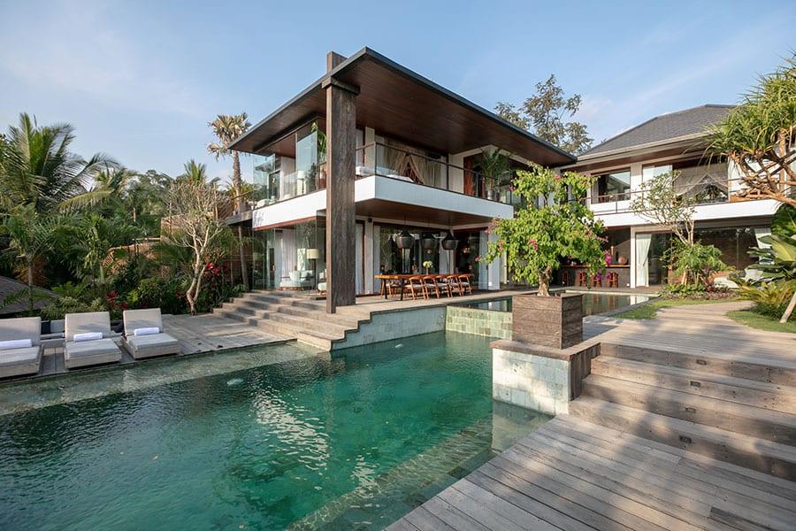 Stunning pool setting Ubud health retreat