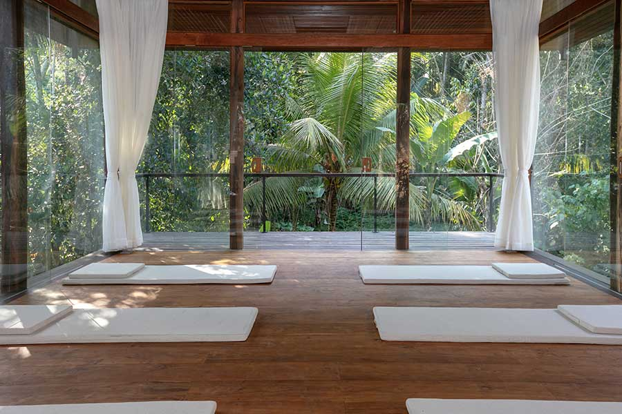 Stunning setting Ubud yoga retreat