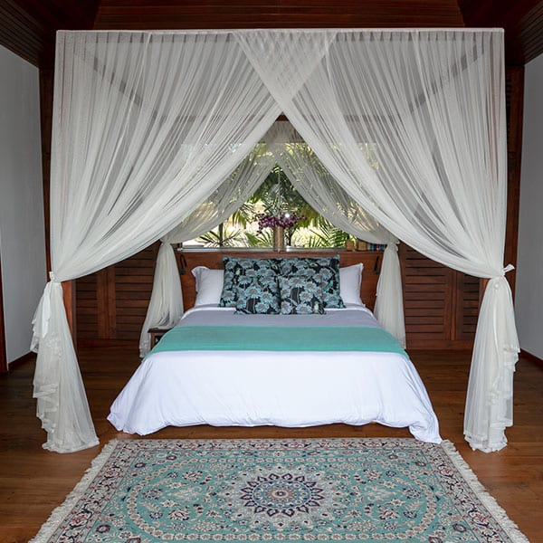 Gorgeous Rainforest Room bedroom in Ubud Bali Retreat