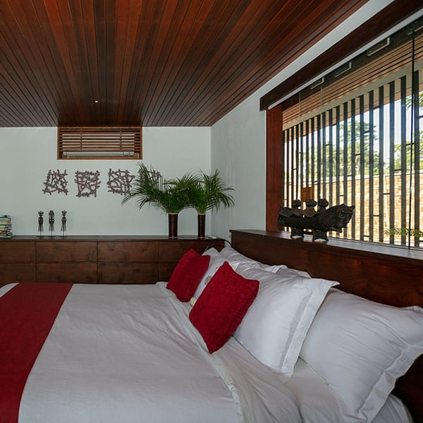 Ubud Rainforest Room bedroom in Bali Retreat