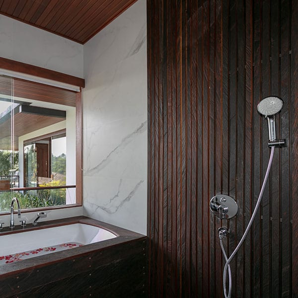 Ubud Rainforest Room Bali Retreat bathroom