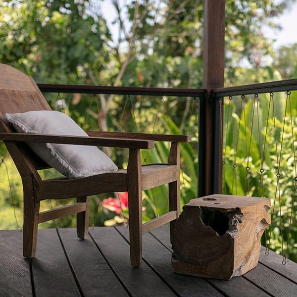 Ubud Rainforest Room with balcony Bali Retreat