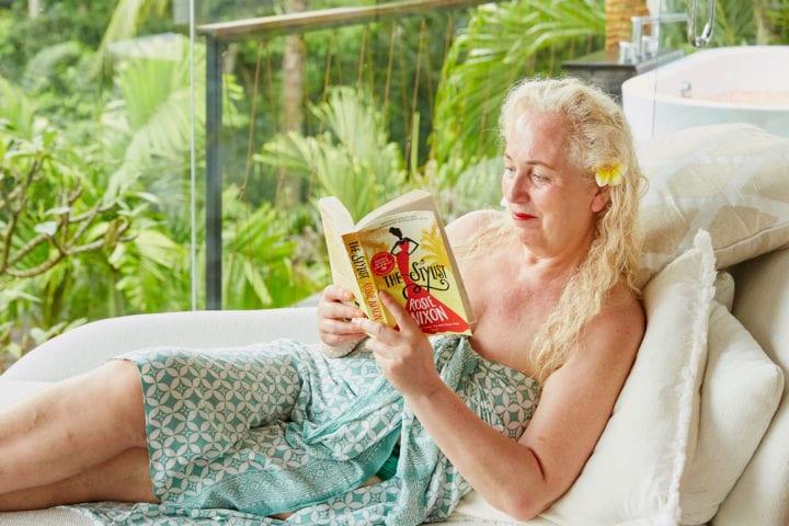 Debbie Bright at Bliss Bali retreat