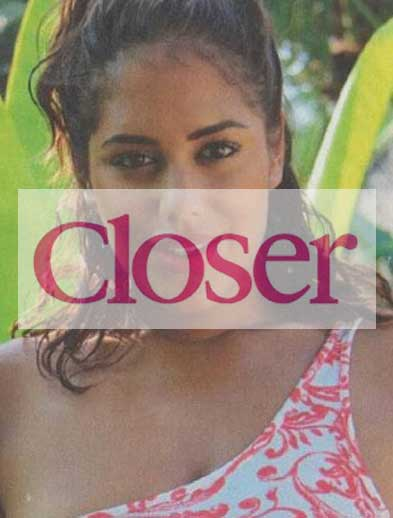 Closer Magazine Malin Andersson at Bliss Bali retreat