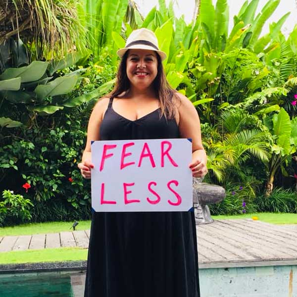 blissntell - guest feels fearless after staying at bliss bali retreat
