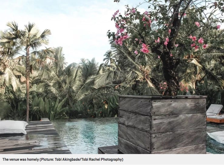 Venue was homely, Metro online article Bliss Bali retreat