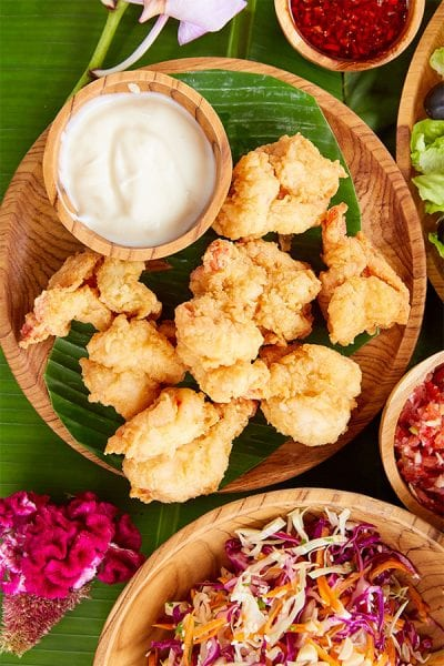Bali Fusion Menu, Salt & Pepper prawns