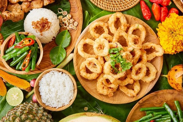 Bali Fusion Menu, Salt & Pepper Squid