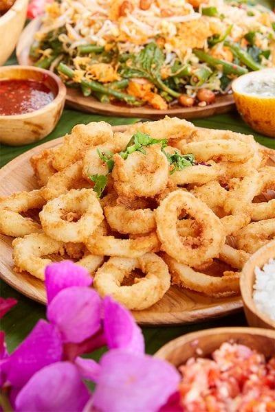 Bali Fusion Menu, Salt & Pepper Squid