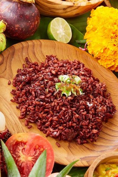Bali Fusion Menu, Red Rice