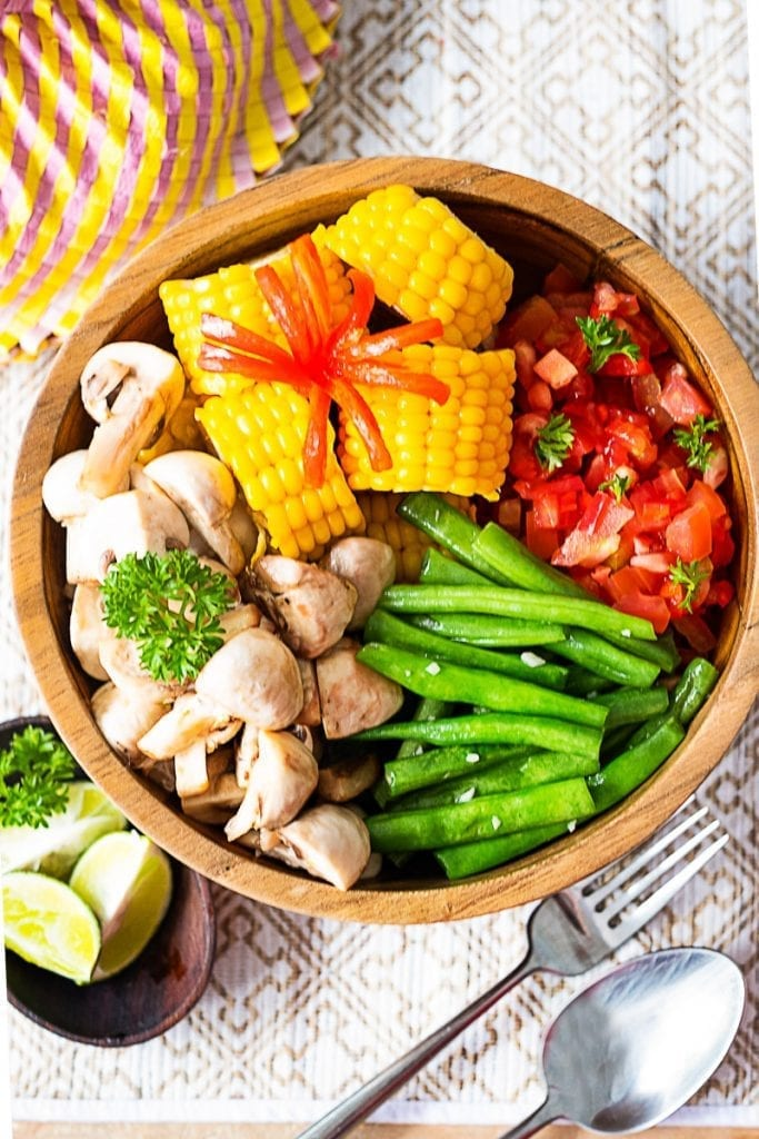 Vegan Warm Breakfast Salad