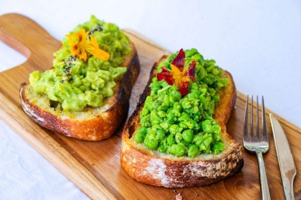 Smashed Goodness - Avocado & Peas