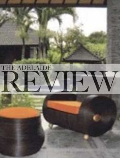 Adelaide Review newspaper Bliss Bali retreat