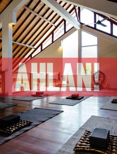 Ahlan website Bliss Retreat Bali