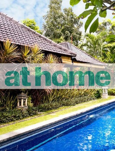 At Home Magazine website Bliss Retreat Bali