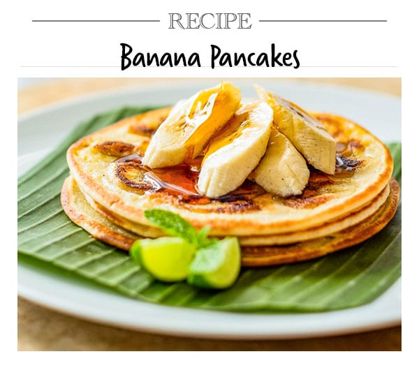 Bliss Recipe, Banana Pancakes