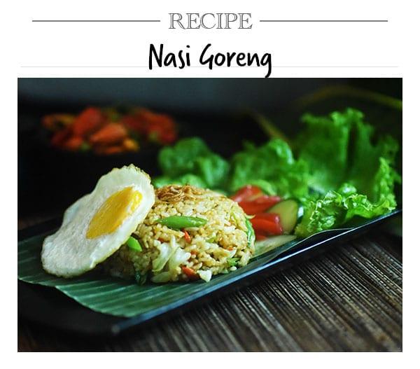Recipe, Nasi Goreng