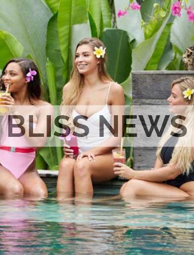 Bliss News Love Island stars at Bliss Bali Rretreat