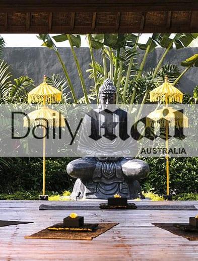 Daily Mail Australia website Bliss Retreat Bali