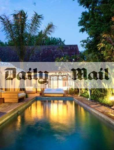 Daily Mail Newspaper Bliss Retreat Bali