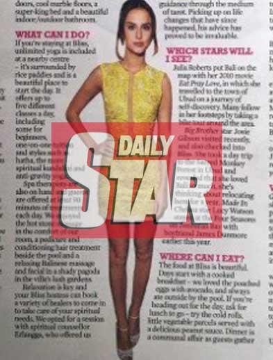 Daily Star Newspaper Bliss retreat Bali