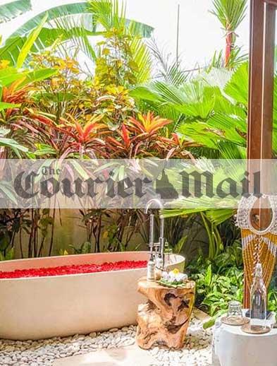 Getaway Courier Mail Newspaper Bliss Retreat Bali