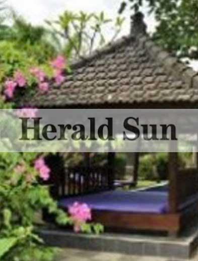 Herald Sun Newspaper Bliss Bali Retreat