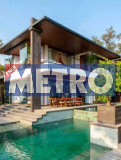 Metro Newspaper Bliss Retreat Bali