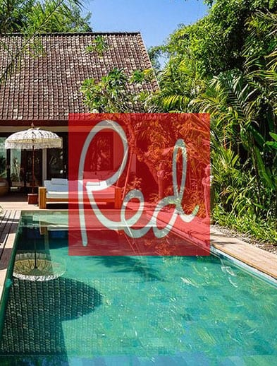 Red website Bliss Retreat Bali