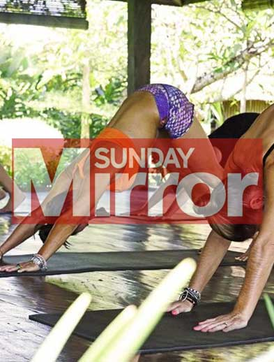 Sunday Mirror Newspaper Bliss Bali Retreat