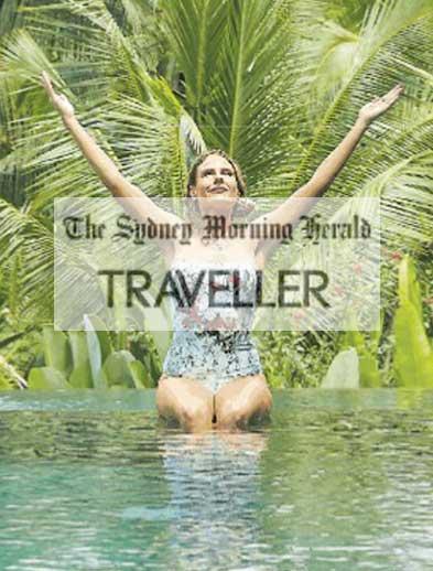 Sydney Morning Herald Newspaper Traveller Bliss Retreat Bali