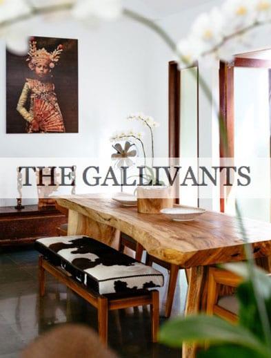 The Gallivants website Bliss Retreat Bali