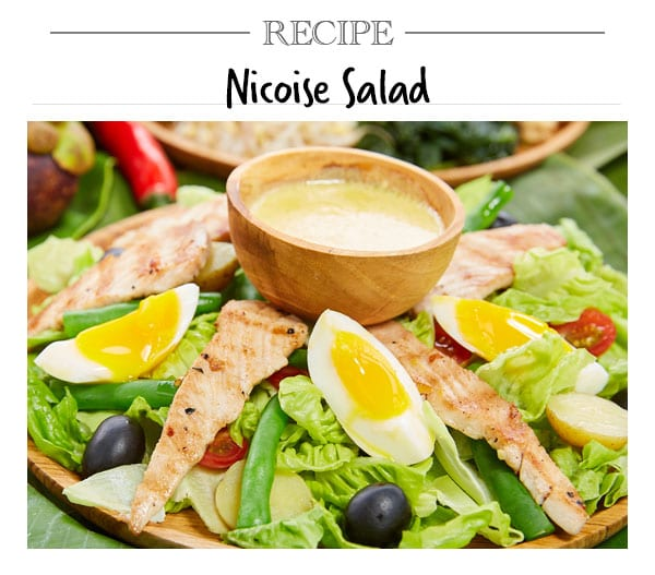 Recipe, Nicoise Salad