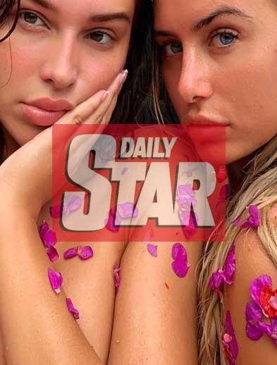 Daily Star, Zara Mcdermott and Ellie Brown at Blis Bali retreat