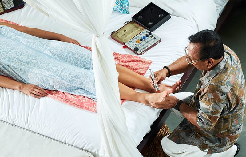 Henry Bliss Bali Healer, Colourpuncturist