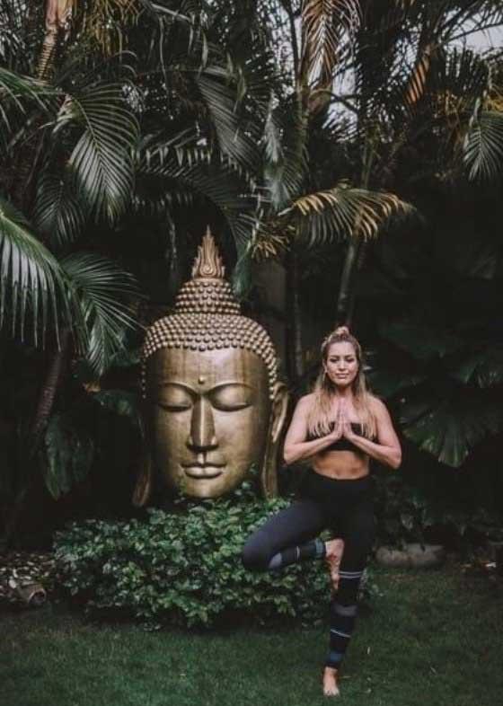 Nadia Stamp at Bliss Bali retreat