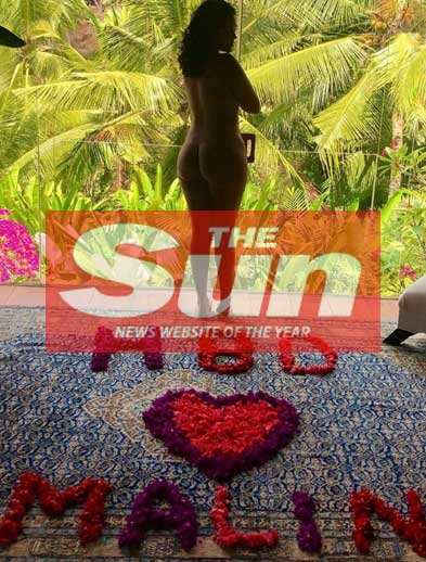 The Sun UK, Malin Andersson celebrates birthday at Bliss Bali Retreat