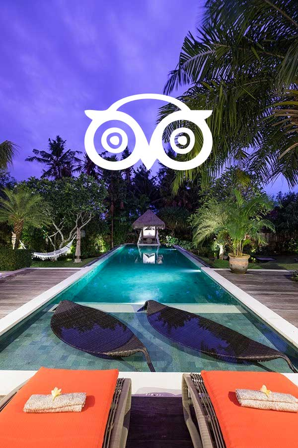 Bliss reteat Canggu, tripadvisor 5-star reviews