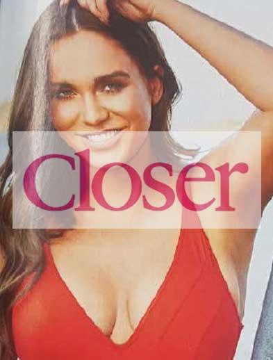 Closer Magazine Vicky Pattison