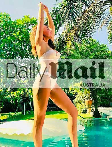 Liberty X Michelle Heaton in Daily Mail Australia Bliss Bali retreat for women