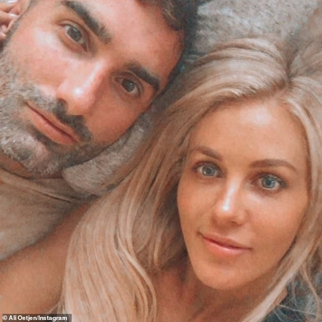 Ali Oetjen 2018 Bachelorette and boyfriend Taite Ridley