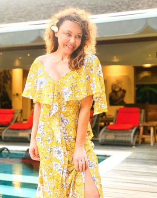 Michelle Heaton relaxed at Bliss Sanctuary for Women