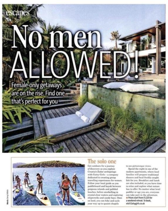 Bella magazine features Bliss Sanctuary For Women